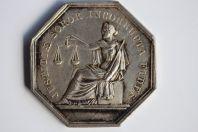 Jeton de Notaire argent chambre des Notaires Blois Loire et Cher