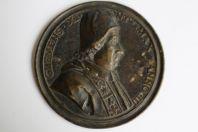 Grande médaille papale CLEMENS XI XVIIIe siècle
