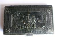 Carnet calendrier carte Allemagne 1830 Turc