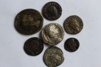 Monnaies romaines lot de 7 pieces