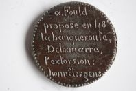 Médaille politique Révolution de 1848 Ledrun Rollin