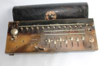 Calculatrice antique calculator MADAS made in Switzerland PAT.1913