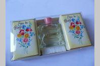 Flacon d'eau de cologne + savon