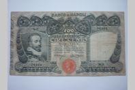 Billet 100 lire cento Italie Banco di Napoli