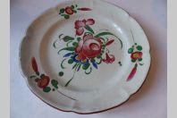 Assiette faience luneville XVIIIe/XIXe siècle