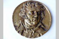 Médaillon Kléber 1831 par Pierre Jean David d'Angers (1788 - 1856)