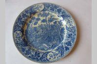 Assiette Faïence de Carouge Baylon 1803-1829 Suisse