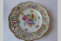 Assiette porcelaine Schumann Bavaria
