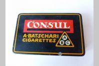 Boite cigarettes CONSUL