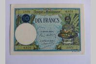 Billet 10 Francs Banque de Madagascar (1937-1947)