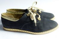 BALLY Jallut chaussure sneaker femme bleu marine T38.5
