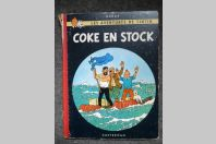 BD Tintin Hergé - Coke en Stock - B24 - 1958