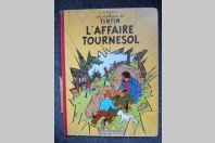 BD Tintin Hergé - L'Affaire Tournesol - B20 - 1956