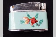 Ancien Briquet Essence SUNFLOWER  Poisson