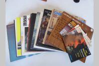 Ensemble de 27 Disques Vinyles 33T 45T Hallyday Brassens