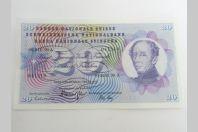 Billet 20 F Suisse 1972 neuf
