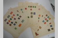 Ensemble timbres Poste Allemagne Deutch Neuf * et oblitéré