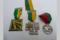 Décorations Médailles de Tir Suisse Carouge Veyrier