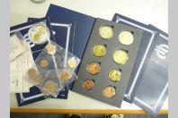 Ensemble médaille Euros Spécimen Essai Probe Trial