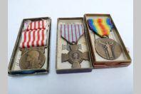 Décorations médailles  militaires Guerre 14/18