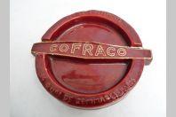 Cendrier céramique publicité COFRACO Sous-Vêtements Paris