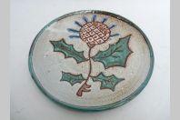 Assiette céramique Daniel VALLAURIS