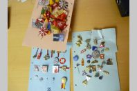 Ensemble Pins et décorations