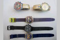 5 Montres Chronomètre SWATCH
