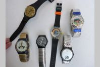 6 anciennes Montres SWATCH