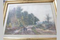Aquarelle Peinture Armand CASSAGNE 1864