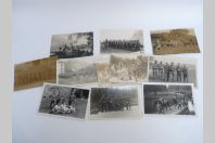 11 Cartes photos Suisse Militaria Zurich