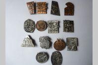 Ensemble de ( 14 ) médailles Fasnacht Basel