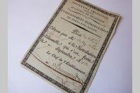 Prix écolier Académie de Besançon 1813
