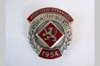 Médaille D'acheteur étranger Foire de Lyon 1954 A.Augis
