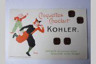 CPA Suisse Croquettes Choclait Kohler