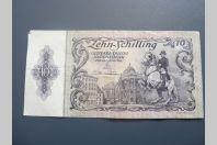 Billet 10 Schilling 1950 Autriche