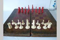 Jeu d'échecs  boite livre Russe ancien