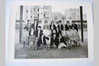 Photo d'école de filles a Genève 1961 Boissonnas