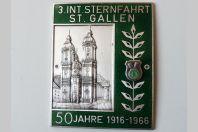 Insigne moto rallye St. Gallen 1916-1966