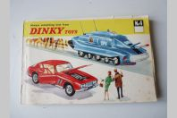 Catalogue N°4 +prix 1968 véhicules DINKY TOYS