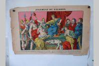 Gravure D'ÉPINAL Jugement De Salomon