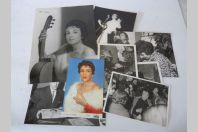 Gloria LASSO  Photos Autographes