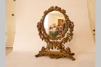 Miroir psyché bronze Napoléon III