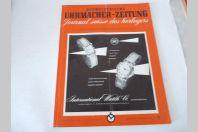 Journal Suisse des Horlogers Schweizerische Uhrmacher Zeitung  N°2 1954