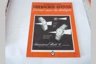 Journal Suisse des Horlogers Schweizerische Uhrmacher Zeitung  N°6 1954