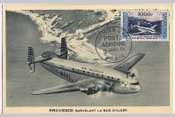Carte-maximum France PA n°33 Provence Avion-cargo