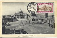 Carte-maximum Italie - N°166 - Rome année sainte