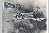 Carte-maximum France - PA n°35 Aviation Morane Saulnier 360