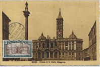 Carte-maximum Italie - N°163 - Rome année sainte