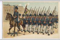 CPA militaire illustrée